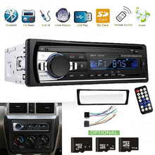 Load image into Gallery viewer, 1 Din Car Radio Bluetooth Handsfree Support USB/SD AUX-IN 12V Car Stereo FM Radio MP3 Audio Player 1 Din In-Dash