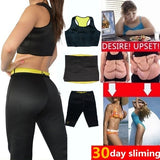 Ladies Women's Bodybuilding Super Stretch Neoprene Slimming Suit Body Shapers