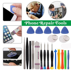 21 In One Mobile Phone Repair Tools Kit Spudger Pry Opening Tool Screwdriver Set Cell Phone Hand Tools Set