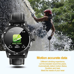 Smart Watch Men Waterproof Heart Rate Blood Pressure Monitor Sport Activity Tracker Fitness for Android IOS