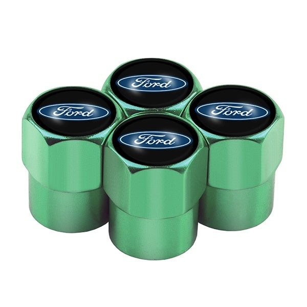 Ford 4pcs Auto Car Wheel Tire Air Valve Caps Stem Cover fit for ford explorer F150 Ranger Focus Mustang Fusion F250