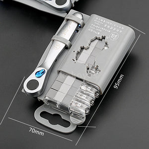 Portable Mini Ratchet Wrench Screwdrivers Set Straight And Cross Screwdriver Kit Convenient To Use Set of Tools, Ratchet Wrench, Screwdriver Set