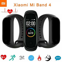 Load image into Gallery viewer, Xiaomi Mi Band 4 Smart Bracelet 0.95' AMOLED Color Screen 135mAh 50M Waterproof 6-sport modes
