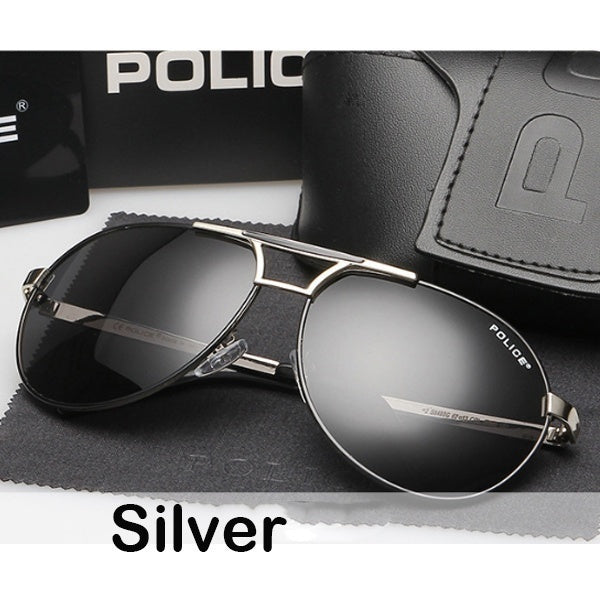 2019 New Design Hot Sale Brand Polarized Fashion Sunglasses Cool Men's Outdoor&Sports Metal Frame Sunglasses-black Lens