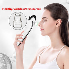 Load image into Gallery viewer, 8PCS Blackhead Vacuum Acne Cleaner Pore Remover Electric Facial Cleanser Care
