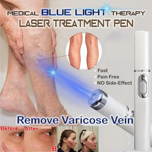 Medical Facial Beauty Machine Blue Light Therapy Varicose Veins Treatment Laser Pen Soft Scar Wrinkle Removal Treatment