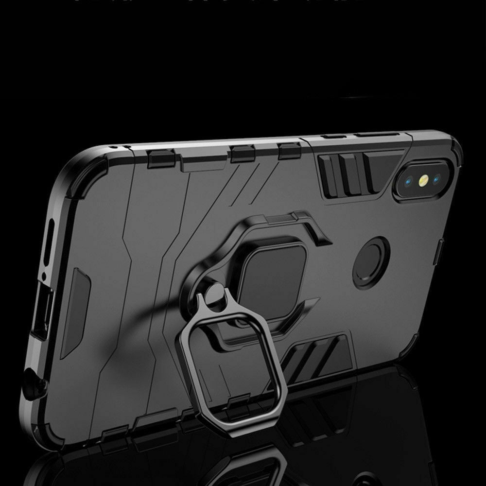 Hybrid Shockproof Magnetic Ring Stand Armor Case Cover For Xiaomi Redmi Note 7 6 5 4 4x Redmi 7 6A 6 /xiaomi 9 9se play