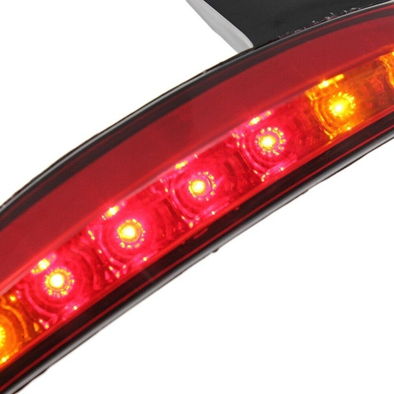 Newest Upgrade General Led Motorcycle Rear Fender Edge Turn Signals Tail Brake Light Smoke
