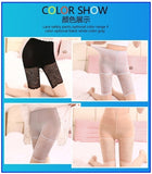 Women's Ultra Stretch Tight Short Leggings Lace Safety Underpants High Waist Underwear Leggings XS-3XL