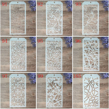 Load image into Gallery viewer, 12*24 cm DIY Craft Layering Stencils For Walls Painting Scrapbooking Stamping Stamps Album Decorative Embossing Paper Cards