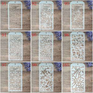 12*24 cm DIY Craft Layering Stencils For Walls Painting Scrapbooking Stamping Stamps Album Decorative Embossing Paper Cards