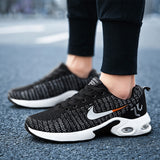 Men's Shoes Breathable Air Cushion Shoes Outdoor Running Lightweight Mesh Sports Shoes
