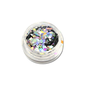 1 box Holographic Nail Flakes Rhombus Diamond Holo Nail Glitter Sparkly Mini Slice Paillette Sequins for Nail Art Decor