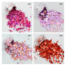 Load image into Gallery viewer, 1 box Holographic Nail Flakes Rhombus Diamond Holo Nail Glitter Sparkly Mini Slice Paillette Sequins for Nail Art Decor