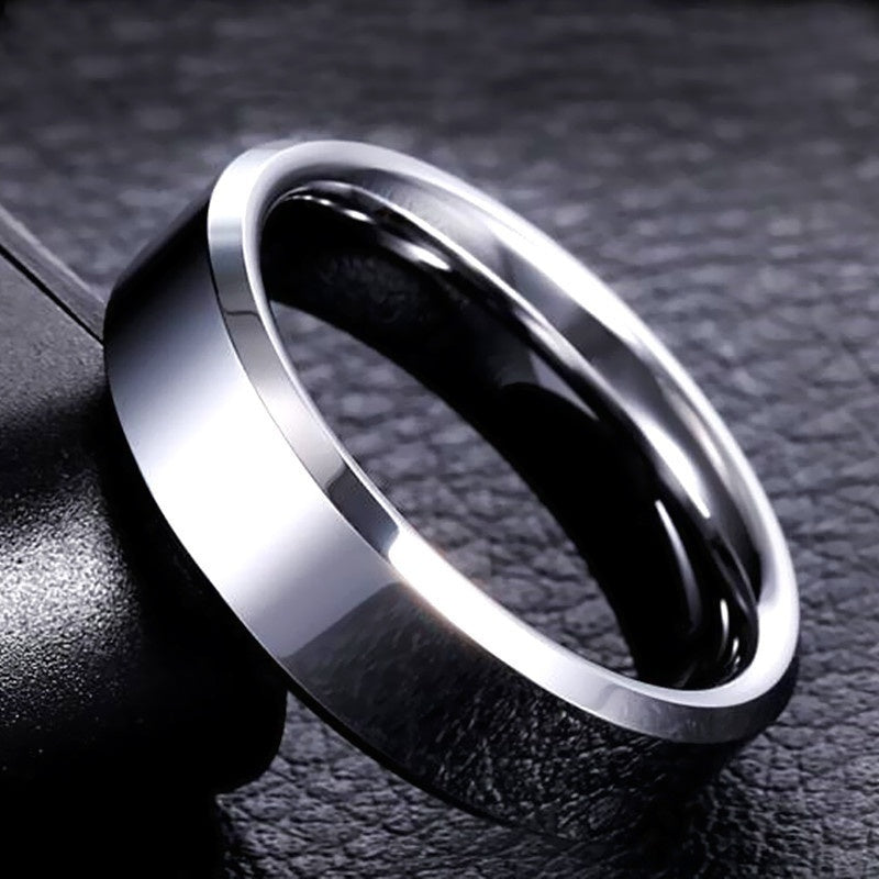 3 Pcs high quality Titanium Stainless steel rings black for Men colors:black, gold, silver Color US Color Sizes 5-13