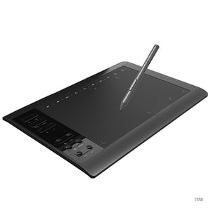 New G10 Digital Tablet 5080LPI Read Resolution Electronic Drawing Board 10x6 Inch Large Screen Hand-painted Board Can Be Connected To Computer Phone 8192 Pressure Sense Writing Board