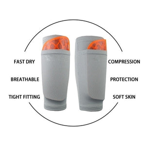 1 Pair Soccer Football Shin Pad Holder Support Leg Sleeve Shin Gaurd Protector Socks