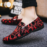 Mens Casual Slip on Shoes Breathable Flat Lazy Shoes Driving Shoes Men Doug Shoes