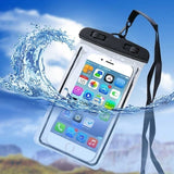 2019 Luminous Waterproof Pouch IPX8 PVC Cell Phone Case Cover Swimming Drifting Dive Dry Protection Bag