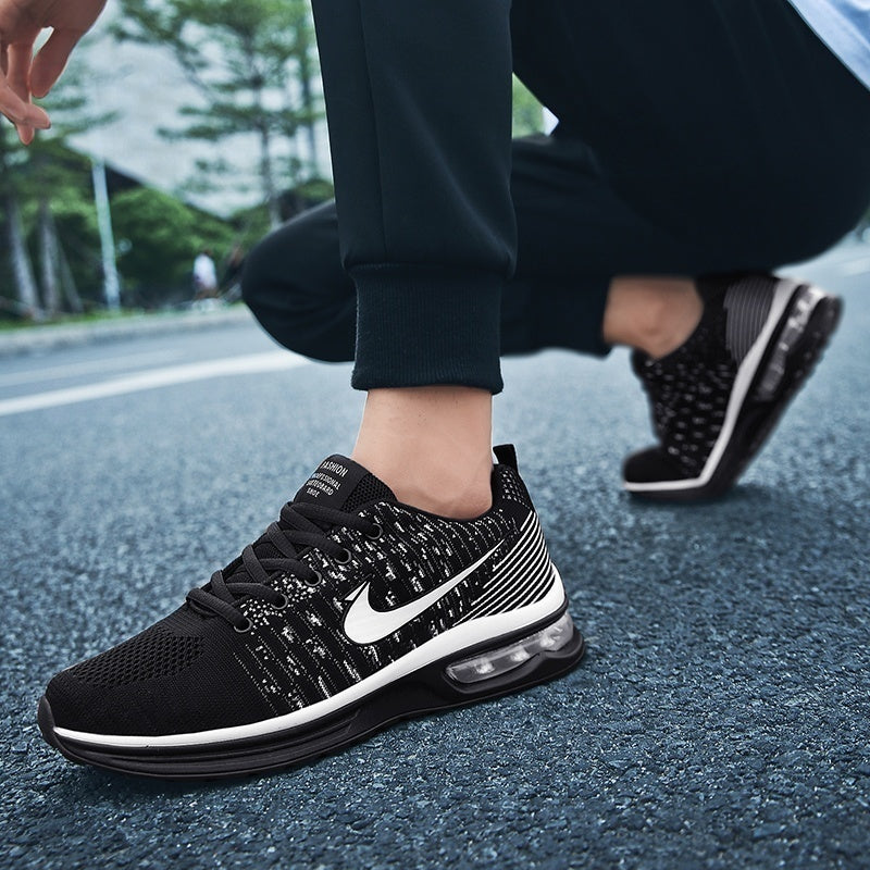 Womens&Men Breathable Mesh Shoes Outdoor Sneakers Casual Running Shoes Sport Shoes Plus Size 36-45