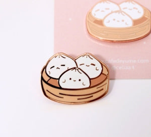 Cute Buns Dessert Women's Fashion Jewelry Brooch, Backpack Brooch, Enamel Pin, Small Gift for Children