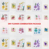 Dried Flowers Leaf UV Resin Decoration Flower Dry Beauty Nail Art Decals Epoxy Mold DIY Filling Jewelry MAE