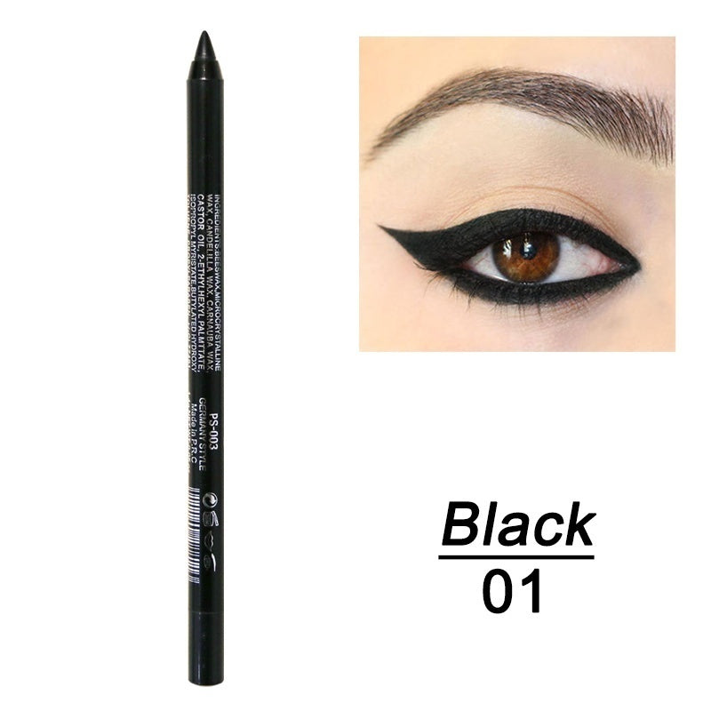 1 Pc Fashion Makeup Eye Cosmetics Colourful Pigment Long Lasting Waterproof Eyeliner Pencil
