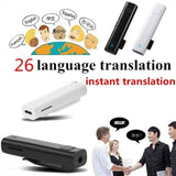 1PC Smart Multi-Language Translator Voice Instant Traductor Bluetooth Earphone