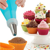 37PCS Cream Pastry Bag Cake Decoration Icing Piping Nozzles Tube Mold Baking Tools