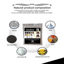 Load image into Gallery viewer, Hair Building Fibers 10 Colors Unisex Hair Salon Keratin Fiber Hair Care Sevich Hair Loss Building Fiber Powder Hair Thickening Powder