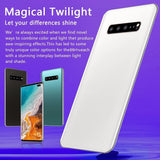 New 6.5 Inch S10+ Smartphone Face/Fingerprint Unlock 6GB+128GB Android Octa Core Dual SIM Cards Support T Card Dual Rear 8MP+16MP HD Camera Bluetooth GPS Navigation Hi-fi Sound Quality 4G Smart Phones