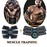 3 Style Professional EMS Muscle Training ABS Fitness Muscle Fat Burning Smart Abdominal Trainer 1pc