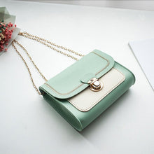 Load image into Gallery viewer, Chains PU Leather Crossbody Bags for Women Small Shoulder Messenger Bag Female Handbags