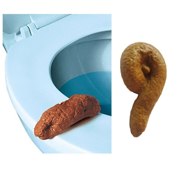 NEW FASHION April Fools' Day Props Loftus Gross Party Pooper Fake Poo Toy Prank Tool Gag Kids Gift Fake Human Poop Gross Joke Pooper Tricky Toy