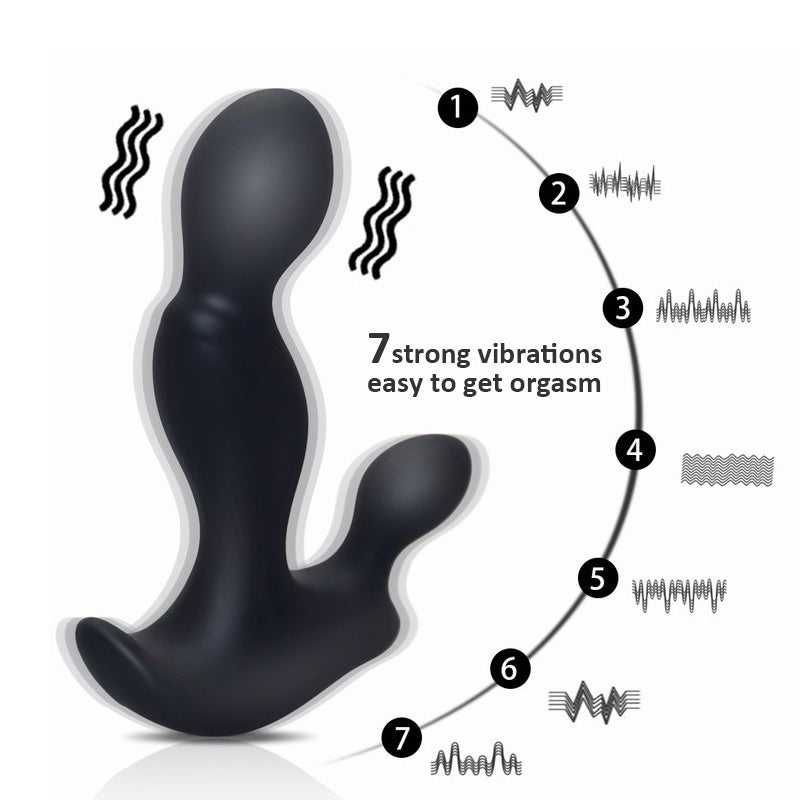 Men's Super Relaxation Tool Wireless Remote Control Toy Safety Material Waterproof Silicone Toy to Protect Men's Health