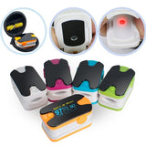 NEW Portable Color OLED Finger Pulse Oximeter 4 Parameter SPO2 PR PI Respiration Rate Monitor