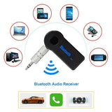 Hot Sale 3.5mm Wireless Bluetooth Receiver Phone To AUX Car Stereo Music Receiver Adapter with Mic