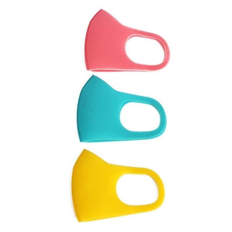 3/5/10pcs Kids Outdoor Cycling Anti Dust Haze Sponge Mouth Face Mask Respirator Face Masks