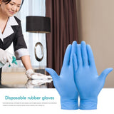 Upgraded Thickened Disposable Gloves Tattoo Gloves Nitrile Rubber Gloves Universal Wear-resistant Waterproof Gloves