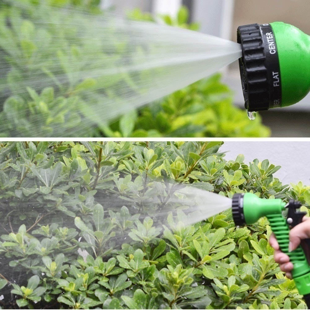 Garden Hose Expandable Magic Flexible Water Hose EU Hose Plastic Hoses Pipe With Spray Gun To Watering Car Wash Spray 25FT-150FT