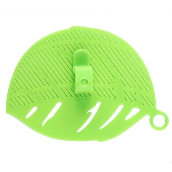 1Pcs Durable Clean Leaf Shape Rice Wash Sieve Beans Peas Cleaning Gadget Kitchen Clips Tools