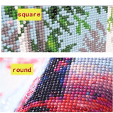DIY Diamond Embroidery Diamond Painting Cartoon Pokemon Cross Stitch Mosaic diamond picture of rhinestones by numbers home Decor