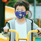Cute Kids Anti-Dust Face Mouth Mask Lovely Breathable Washable Cotton Mouth Mask