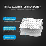 100/50PCS Three-layer Filter Protective Mask Disposable Masks Medical Masks Three-layer Protective  Masks