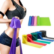 Load image into Gallery viewer, 1.5M High Quality Yoga Equipment Training Elastic Resistance Band Yoga Rubber Loops Pilates Band Women Fitness Accessories Rubber Belt