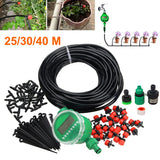 40m/30m/25m Auto/Manual Watering Irrigation System Sprinkler Drip Spraying Garden Hose E