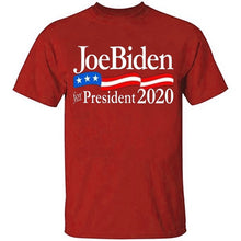 Load image into Gallery viewer, 2020 American Presidential Election T-shirt JoeBiden for President Tees Support Joe Biden Unisex Shirt