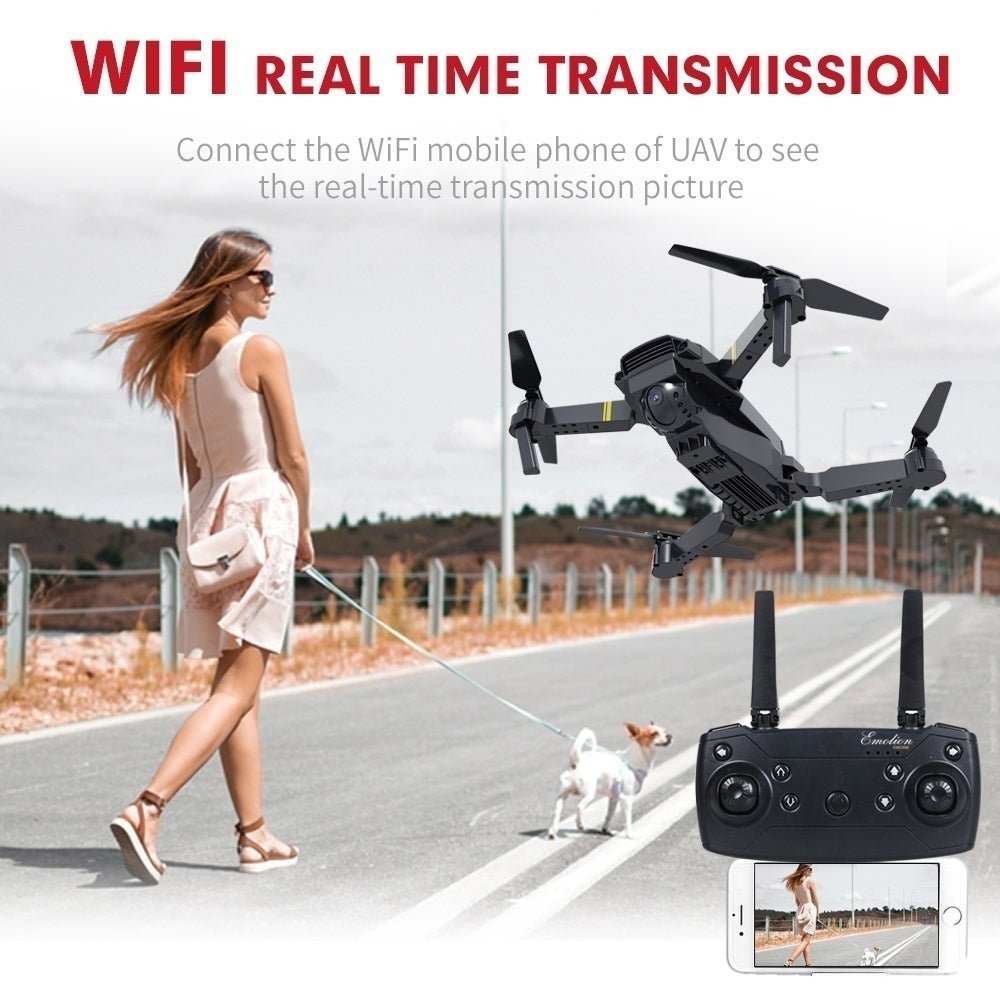 NEW Mavic Pro Clone! Profesional 4K Camera Clone Dji Mavic Pro Folding Drone Wireless Wifi 360 Degree Roll FPV Selfie RC Drone Quadcopters RTF with Real Time Video