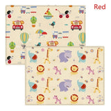 5 Pattern Portable Cartoon Children Crawling Mat Double-sided Thickened Baby Indoor Outdoor Crawling Pad Play Mat