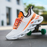 Mens Stylish  Blade Sneakers Walking  Shoes Summer Breathable Running Sports Tennis Shoes Comfort Trainers for Men
